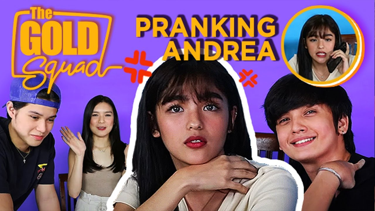 WATCH: Seth and the rest of The Gold Squad prank Andrea