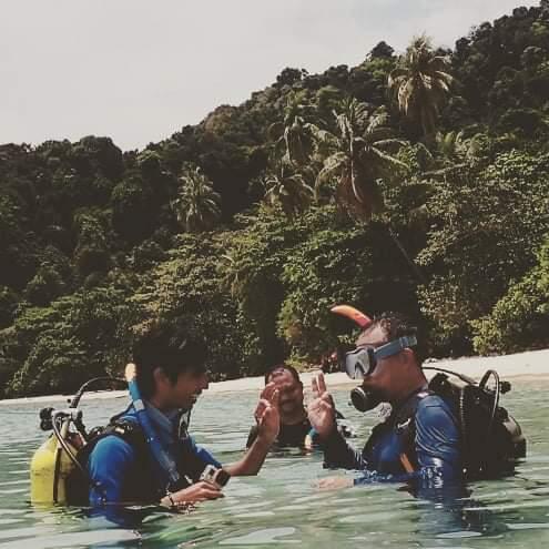 scuba diving pulau kapas