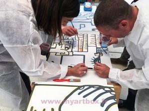 cohésion d'équipe sur le team building participatif