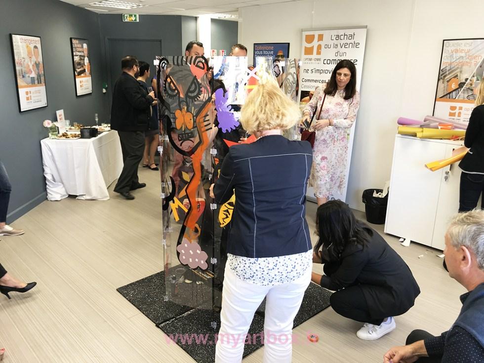 Animation Inauguration Montpellier, Animation Inauguration Montpellier