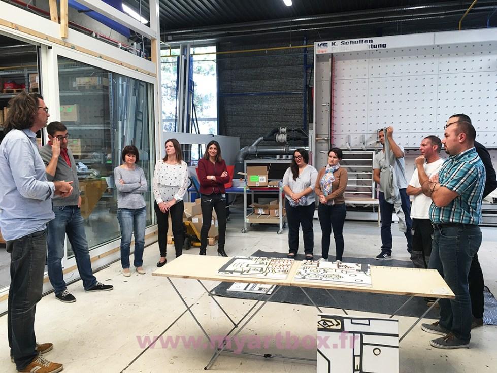 fresque animation team building