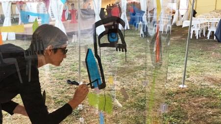 artiste-ana-fresque-team-building-animation-garden-party