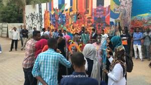 participant sur animation street art