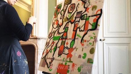 fresque participative pour cohésion de groupe