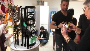 animation fresque participative autonome