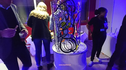 animation chez cupkiller pour inauguration locaux