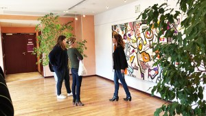 animation fresque pour team building PARIS