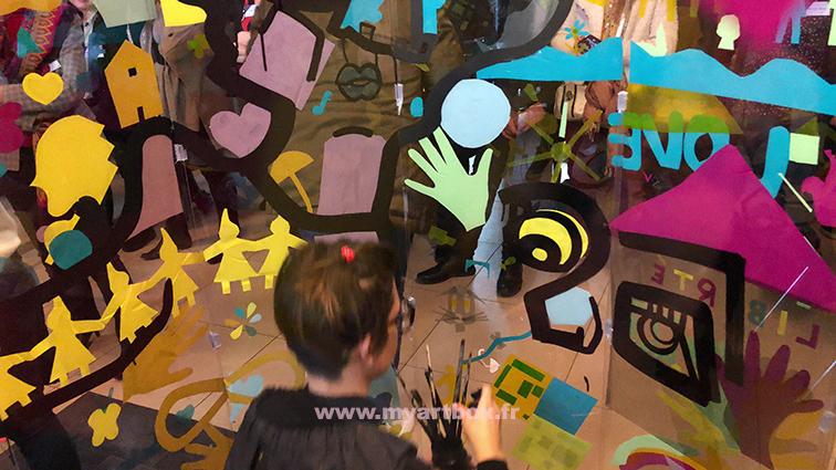 animation team building fresque participative