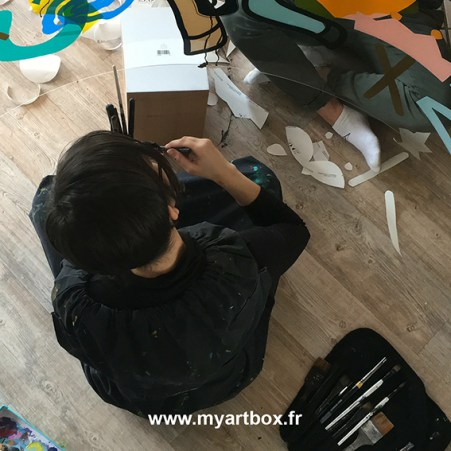 fresque pour animation art