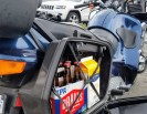 Grocery shopping motorcycle style