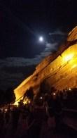 Full moon and Red Rocks = magic