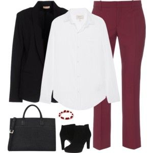 Maroon and White 1