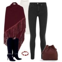 Maroon and White 3