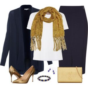 Navy Blue and Gold 2