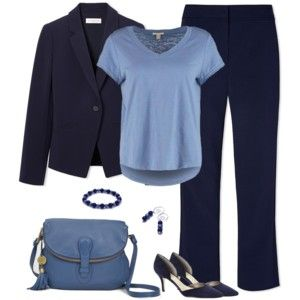 Navy and Blue Gray