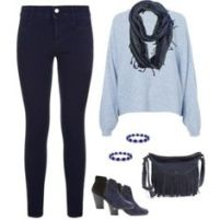 Navy and Light Blue 3