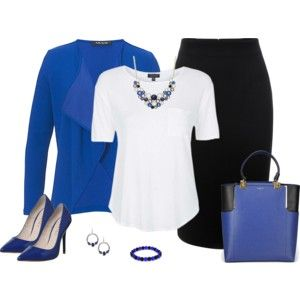 Royal Blue and Black