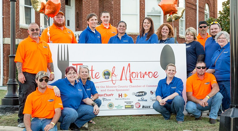 Copart Knoxville in Tennessee Sponsors Chamber of Commerce Community Event