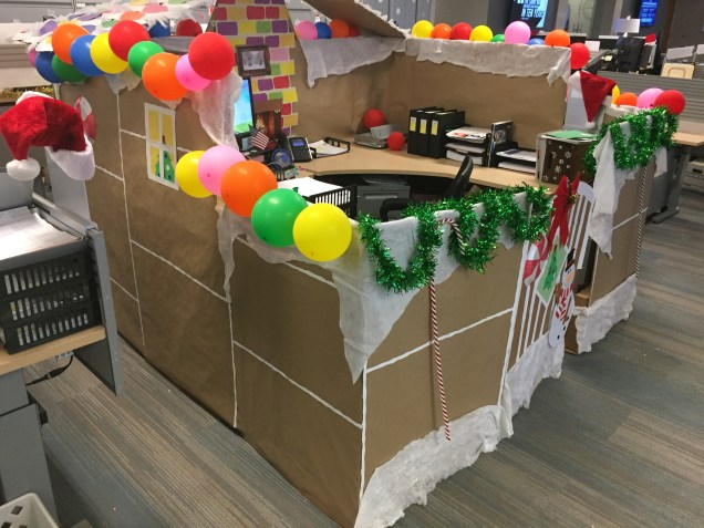 Tax Department Gingerbread House