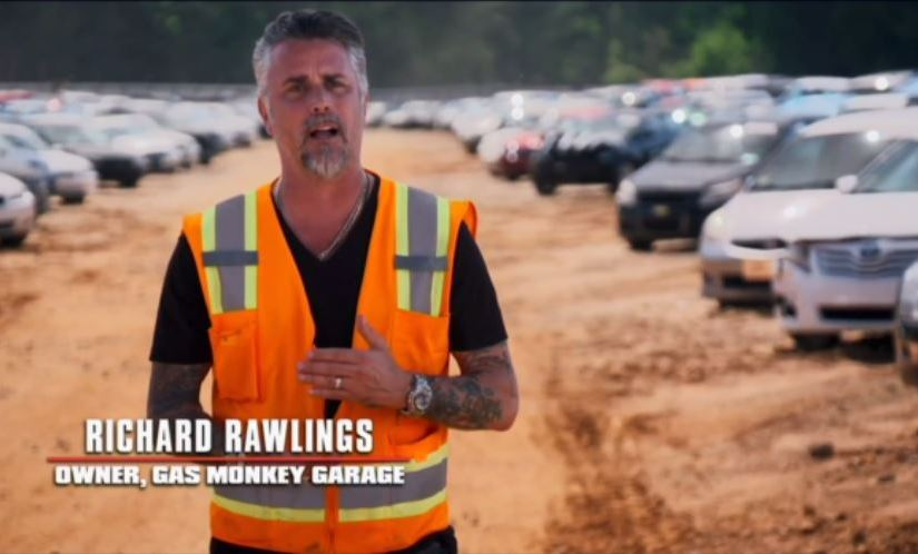 Copart on Discovery Channel's Garage Rehab with Richard Rawlings