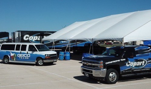 CAT Team Assists GEICO in Midland, TX