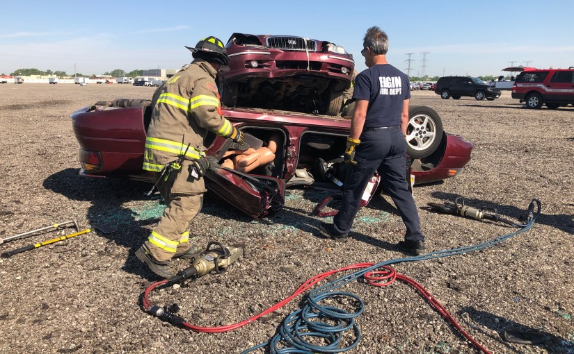 Copart Chicago North Hosts Fire Department Training