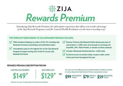 Zija Rewards Premium