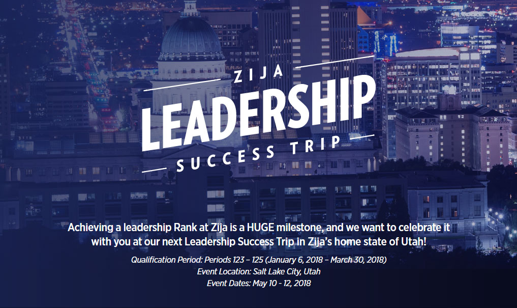 Zija Leadership Success Trip