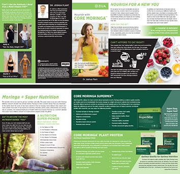 Core Moringa Leaflet