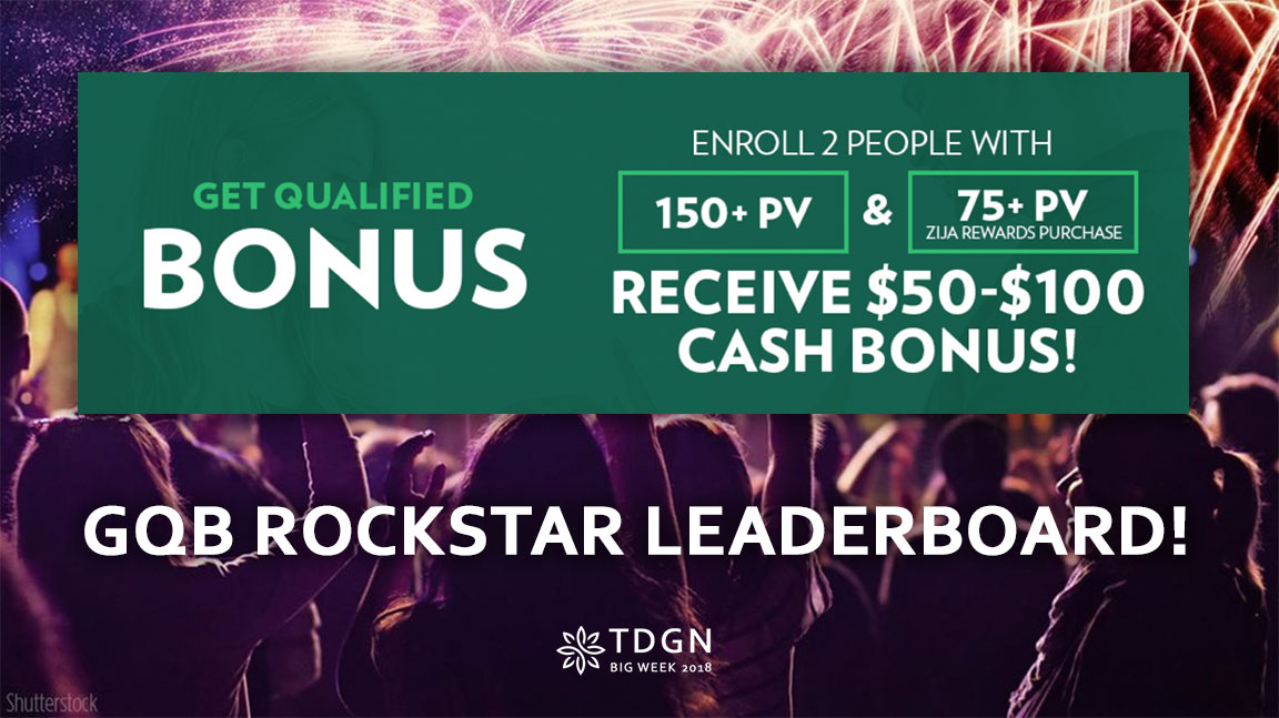 TDGN Get Qualified Bonus