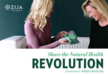 Zija International Product Catalogue 2018