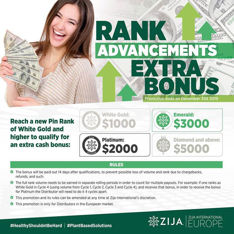 Rank Advancements Extra Bonus