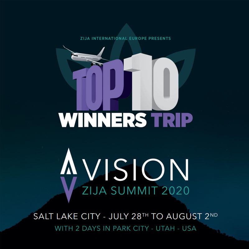 Top 10 Winners Trip Summit 2020