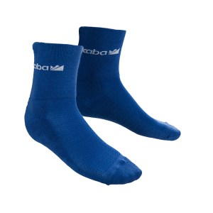 blue cycling socks