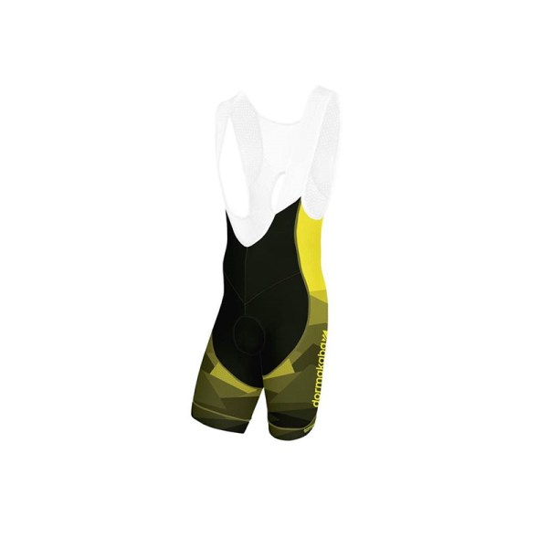 Proxision cycling bibshort - Yellow