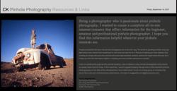 CK Pinhole Photography Resources