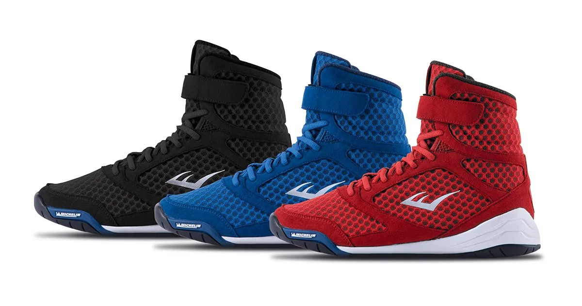 079faee32109d7 Everlast Releases New High Top Boxing Shoe  ELITE