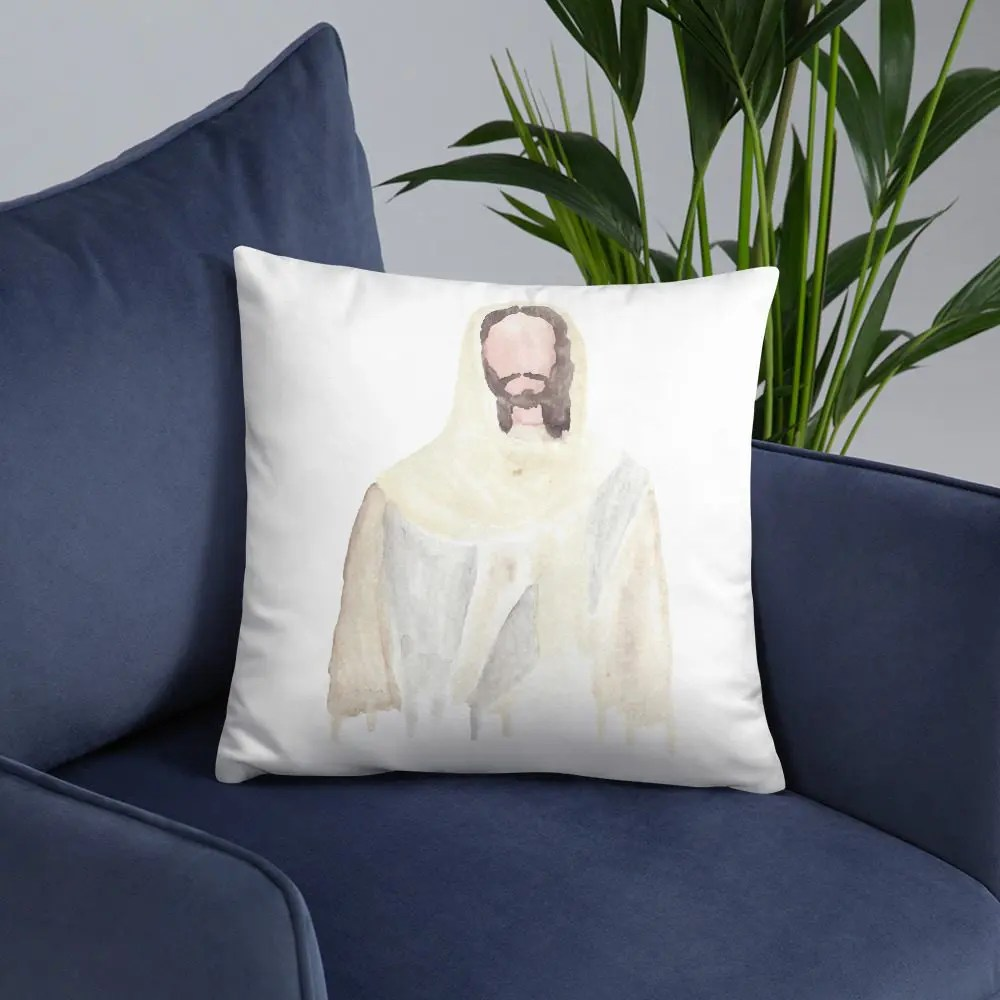Throw Pillow: He Is With Us