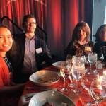 team fox 2018 mvp event guests at dinner table