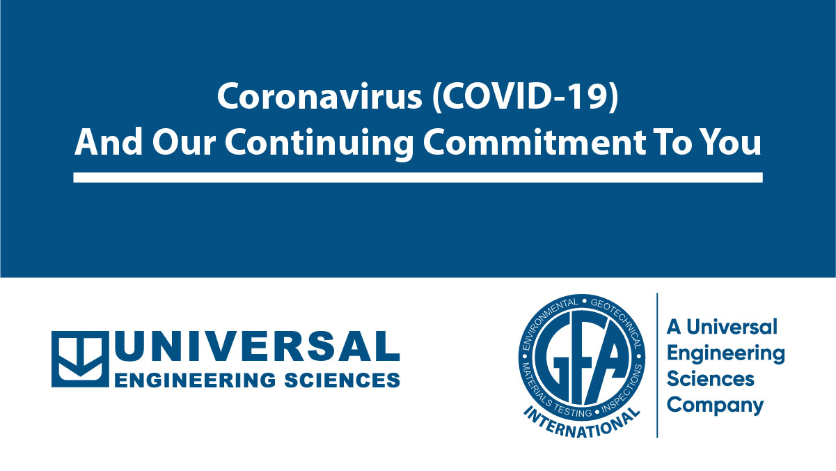 Coronavirus (COVID-19) and our continuing commitment to you