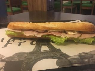 A Parisian sandwich