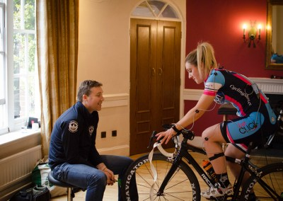 Lauren Brown Vankru Bike Fitting