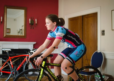 Annabel Sill's Vankru Bike Fitting