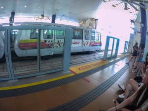 Singapore LRT, taken bj SJCam