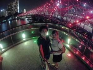 helix bridge selfie