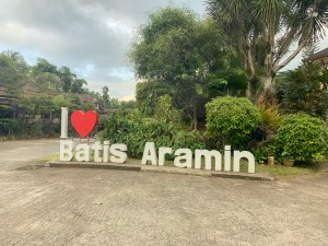 batis aramin garden couple, batis aramin blog, quezon travel guide