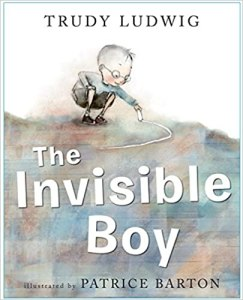 Picture of the cover for the book The Invisible Boy