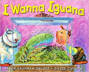 Book Cover for I Wanna Iguana