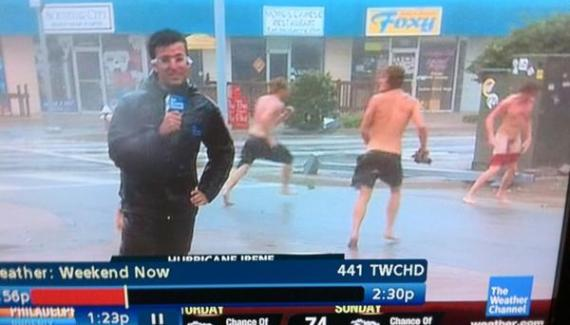 Bad Family Photo: My Boys Naked on The Weather Channel! 1