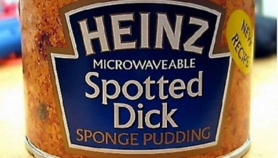 The worst product names ever! Bad proucts, funny awful fail names for sponge pudding, spotted dick